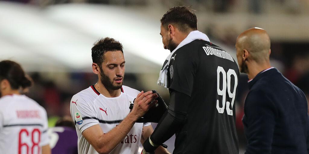 Milan, per Maldini niente fretta per i rinnovi di Calhanoglu e Donnarumma (Getty Images)