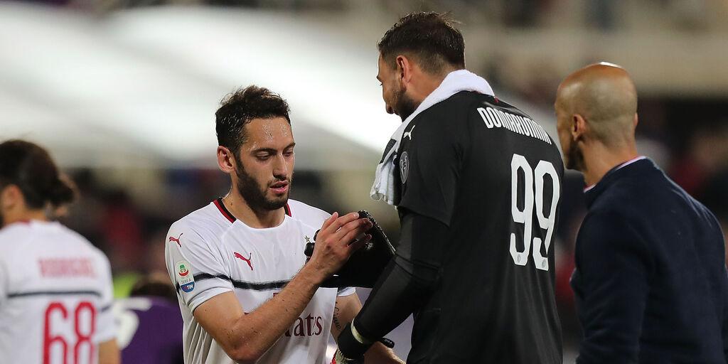 """Milan, d.s. Massara: """"Sforzi per il rinnovo di Calhanoglu e Donnarumma"""" (Getty Images)"""