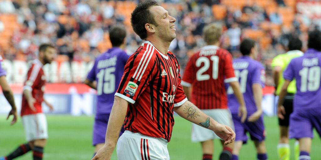"""Milan, Cassano: """"I rossoneri mi hanno salvato la vita"""" (Getty Images)"""