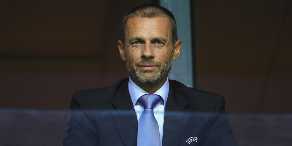 """Ceferin: """"Semifinale di Champions rimandata? Possibilità remota"""" (Getty Images)"""