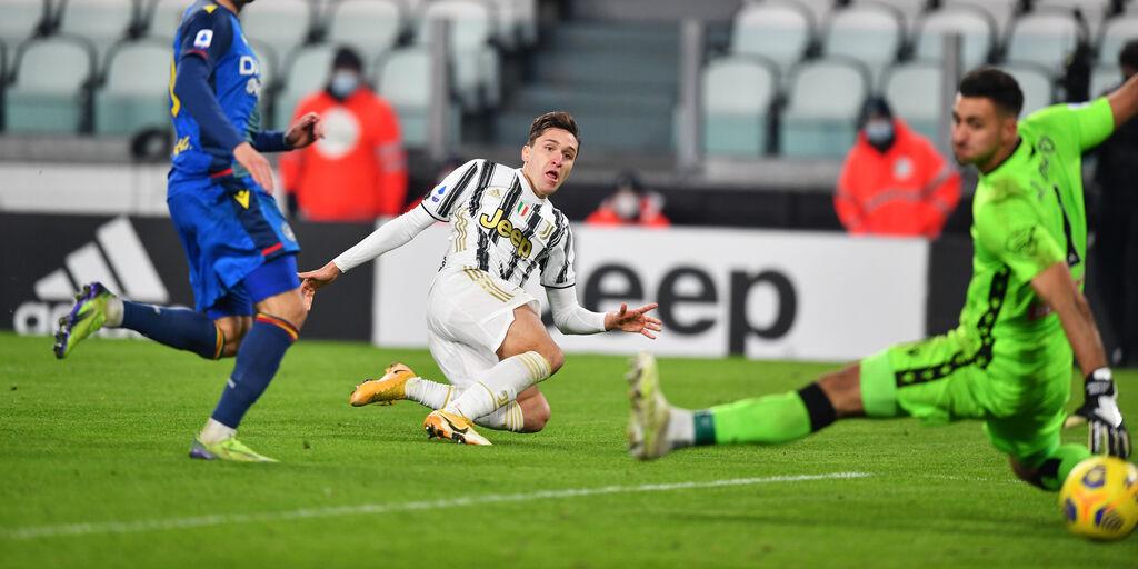"""Juventus, Chiesa: """"Approccio più determinato, fiducia per il Milan"""" (Getty Images)"""