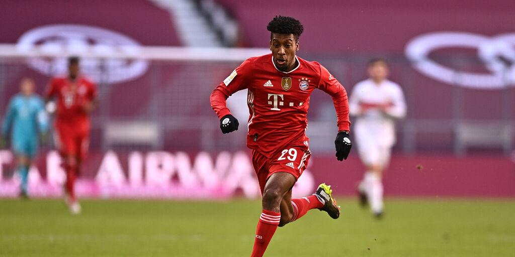 Bayern, dubbio Coman per la Champions (Getty Images)