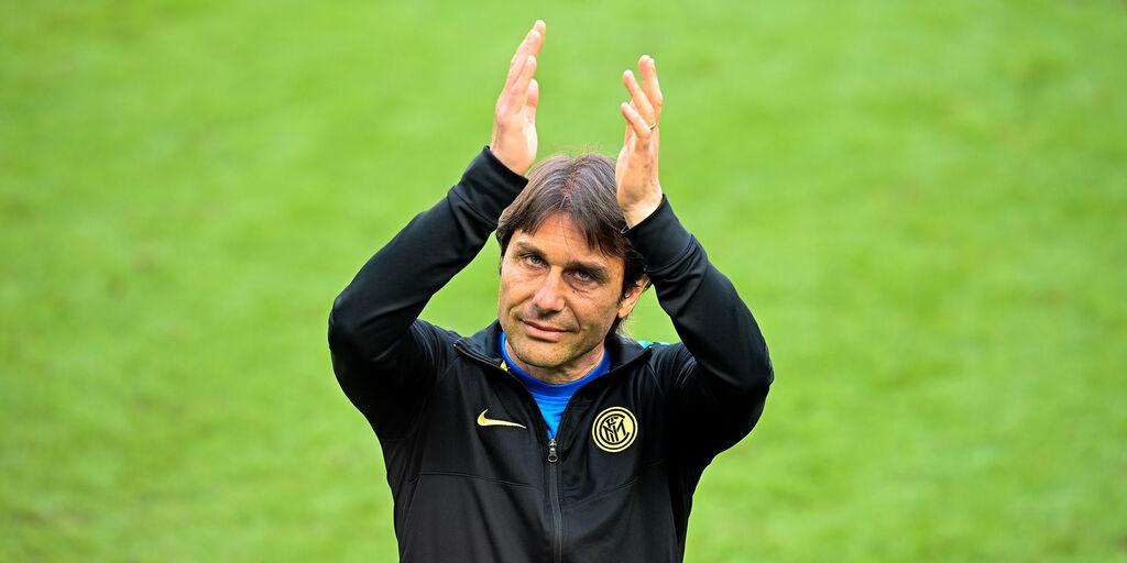 """Inter, Conte: """"Abbiamo riportato qui lo scudetto dopo 11 anni. Grazie"""" (Getty Images)"""