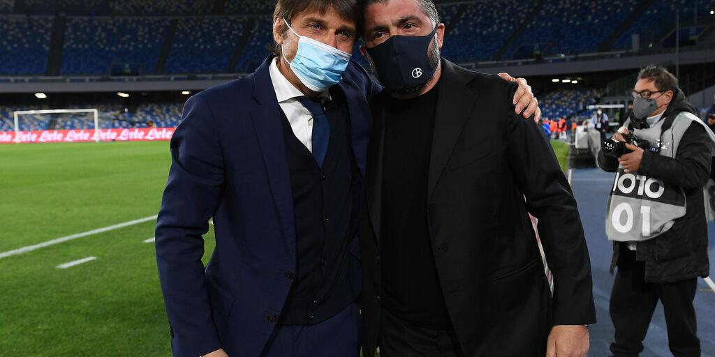 Napoli: il 3-4-2-1 di Gattuso che nessuno ha visto contro l'Inter (Getty Images)