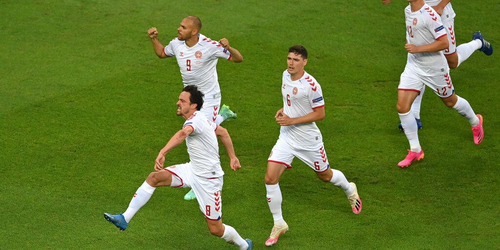 Repubblica Ceca-Danimarca 1-2: cronaca, tabellino e voti per il Fantacalcio (Getty Images)