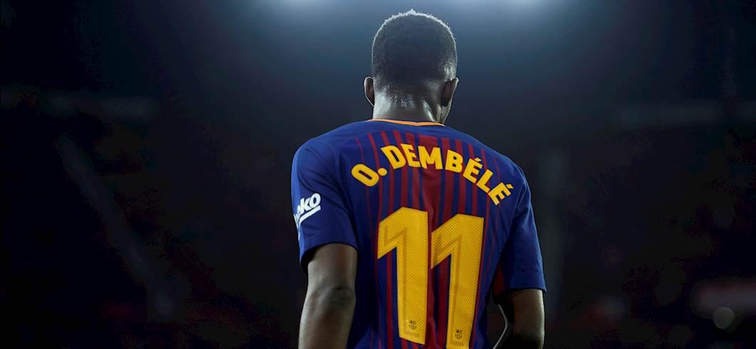 """Barcellona, Dembélé: """"Ho un anno di contratto, poi deciderò"""" (Getty Images)"""