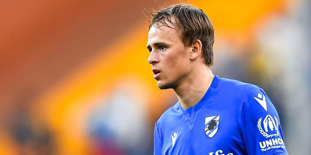 Sampdoria, il comunicato sulle condizioni di Damsgaard. Gabbiadini titolare? (Getty Images)