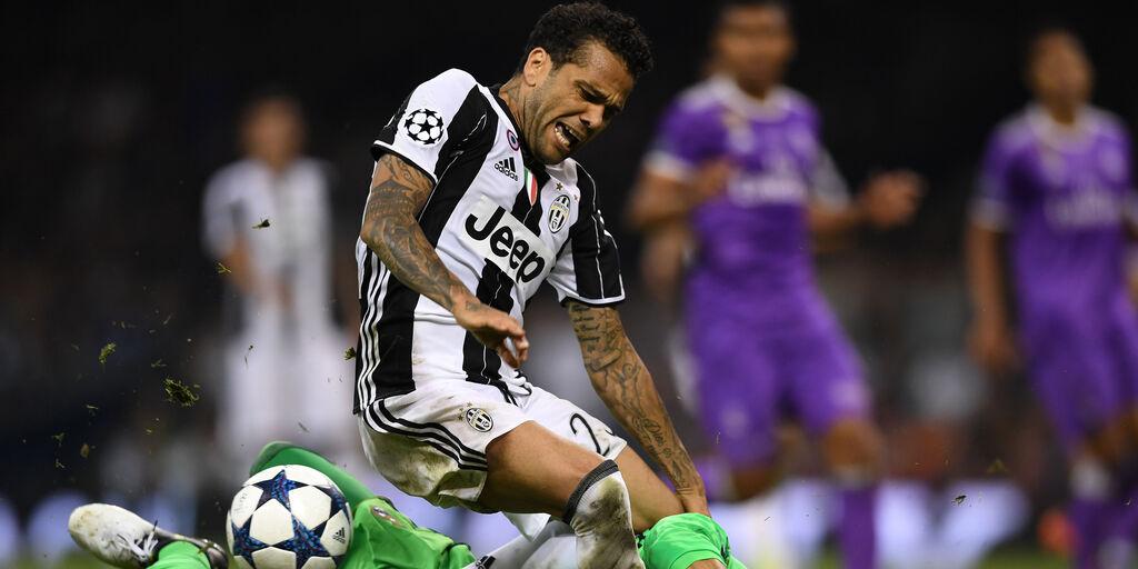 """Dani Alves: """"Juve? Mi promisero di cambiare gioco. Ma non era vero"""" (Getty Images)"""