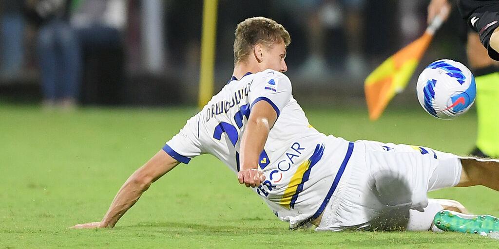 """Verona, Dawidowicz: """"Stiamo giocando bene, ma dobbiamo chiudere le partite"""" (Getty Images)"""