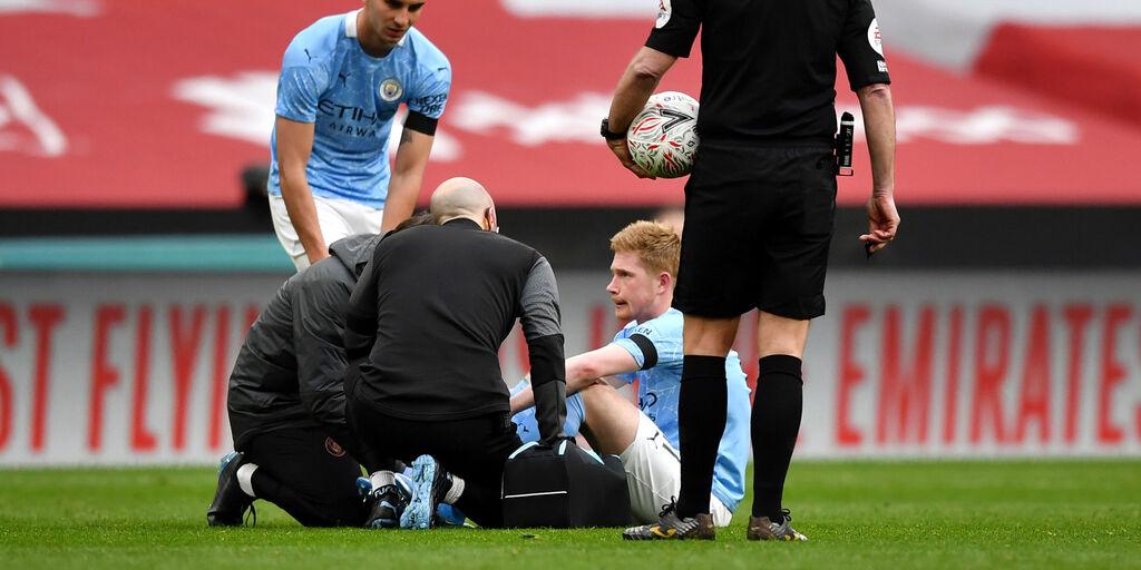 FA Cup, City ko e in ansia per De Bruyne (Getty Images)