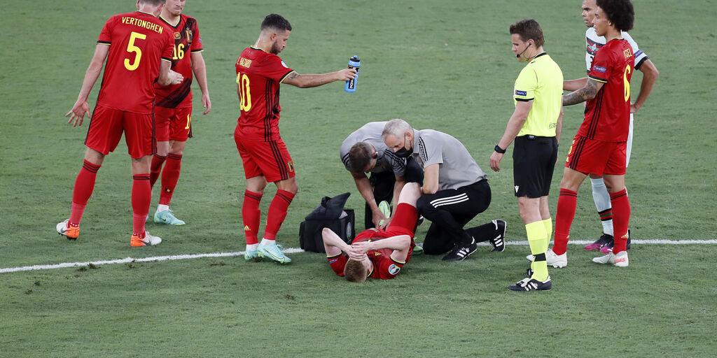 Belgio, verso l'Italia fiato sospeso per De Bruyne e Hazard (Getty Images)