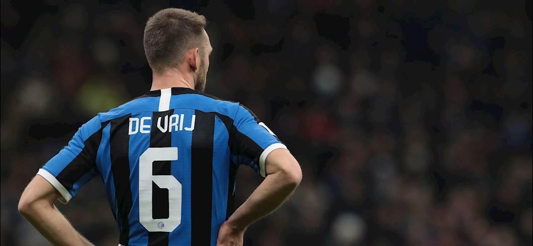 """Inter, De Vrij: """"Ho giocato 60 partite ma non sono stanco"""" (Getty Images)"""