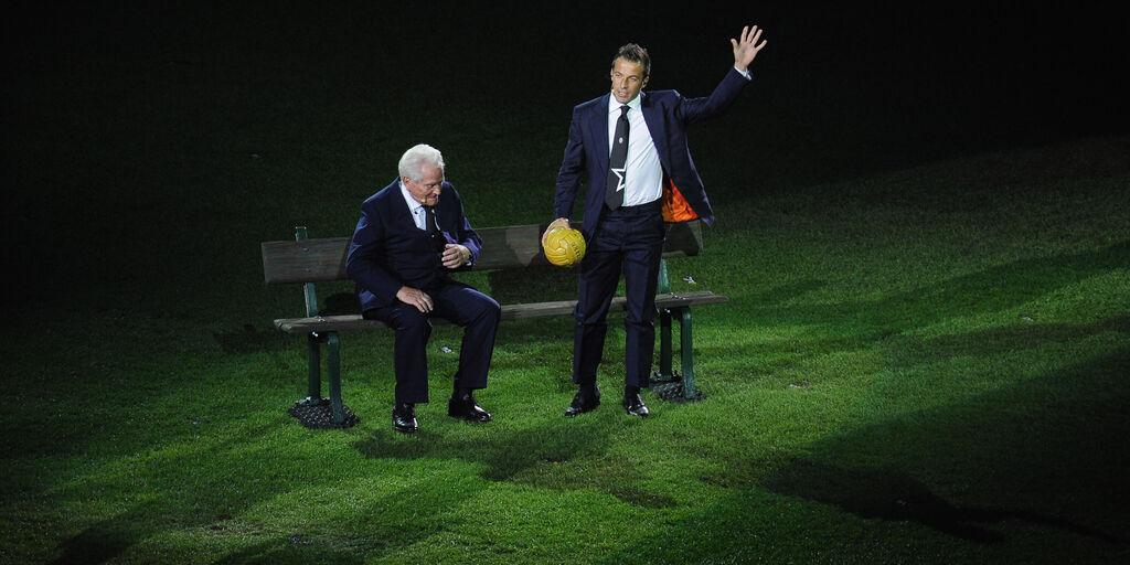"""Boniperti, il messaggio di Del Piero: """"Nessuno è stato la Juventus come lei"""" (Getty Images)"""