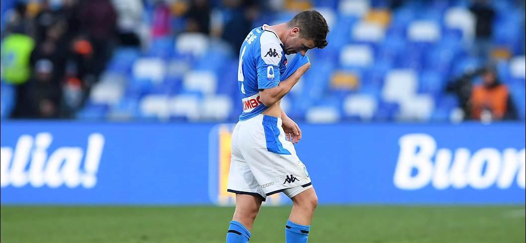 Napoli: infortunio alla gamba destra per Demme in amichevole (Getty Images)
