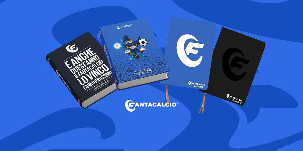 FantaDiario e FantAgenda 2021/2022! Arrivano i nuovi Diario, Agenda e Maxi Quaderni Fantacalcio®