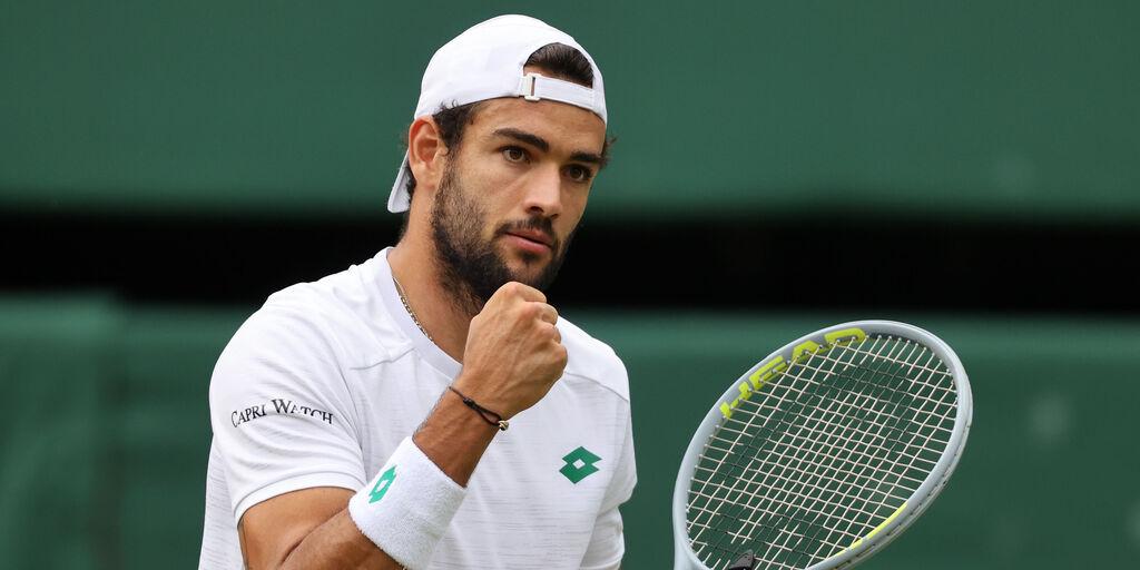 Wimbledon: Berrettini batte Hurkacz ed è in finale (Getty Images)