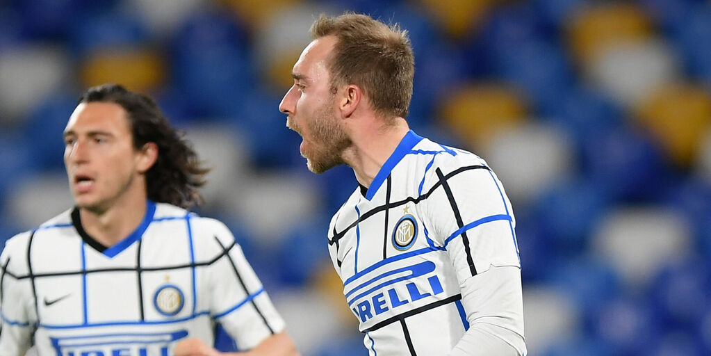 Il messaggio dell'Inter per Eriksen (Getty Images)