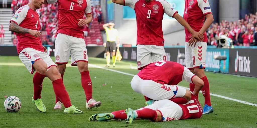 Euro 2021, Danimarca-Finlandia ufficialmente sospesa: malore per Eriksen (Getty Images)