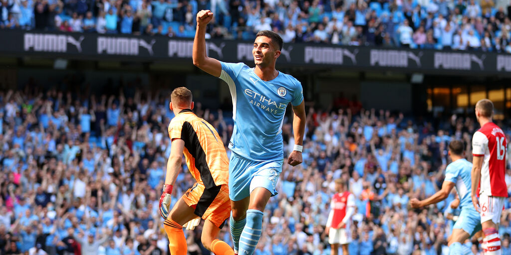 Premier League, Manchester City-Arsenal 5-0: gol e highlights (Getty Images)