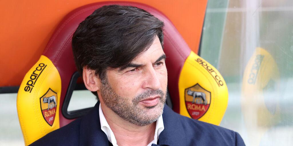 Roma-Lazio: la conferenza di Fonseca (Getty Images)