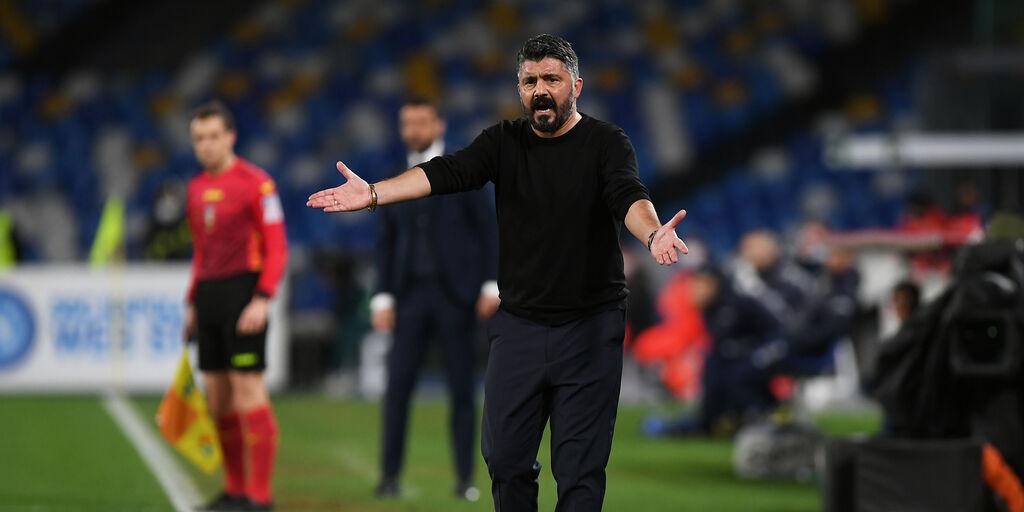 """Napoli, Gattuso: """"La squadra mi è piaciuta, io massacrato ogni giorno"""" (Getty Images)"""