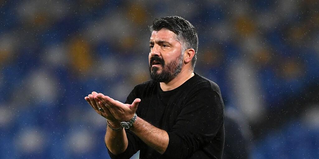 Napoli, fiducia a tempo per Gattuso? La situazione (Getty Images)