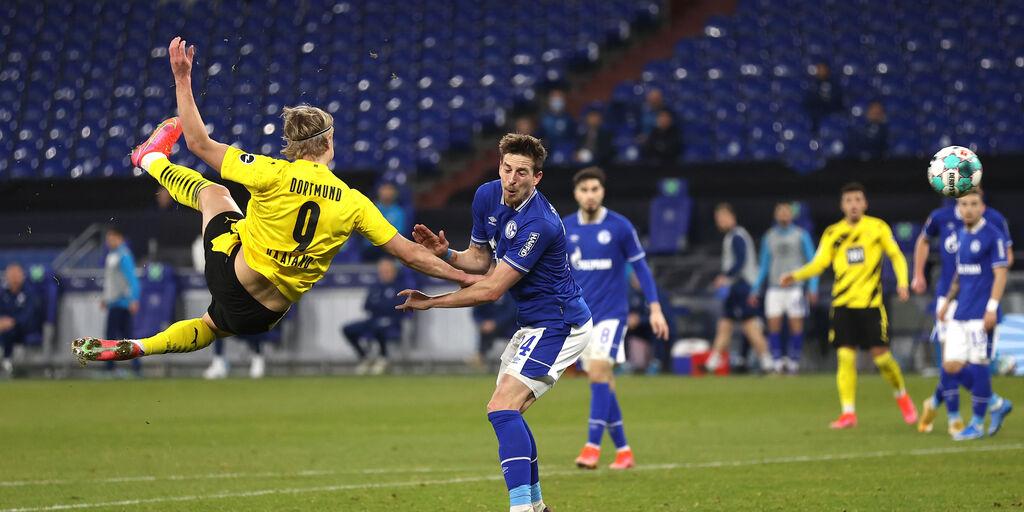 Bundesliga, Haaland non si ferma più: tutti i suoi numeri (Getty Images)