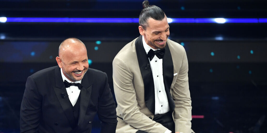 "Sanremo, ""Io vagabondo"", cantano Ibra e Mihajlovic: il video (Getty Images)"