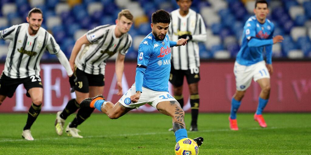 Napoli, Insigne out contro l'Atalanta per infortunio: il sostituto (Getty Images)