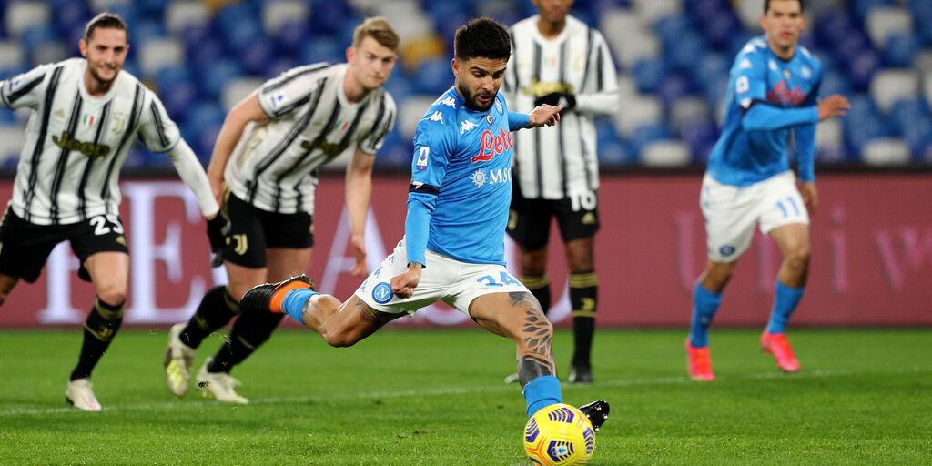 """Napoli, agente Insigne: """"Rigore tirato con amore"""" (Getty Images)"""