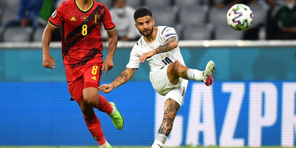 Uefa, si vota il gol della stagione: c'è anche 'o tir a gir' di Insigne (Getty Images)