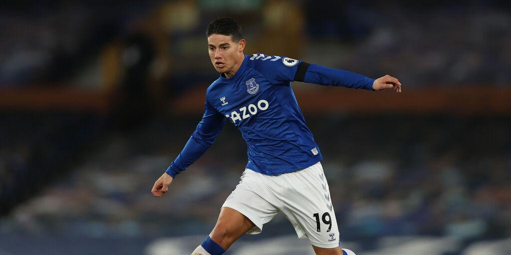 Ufficiale, James Rodriguez all\'Al Rayyan: addio all\'Everton e all\'Europa (Getty Images)