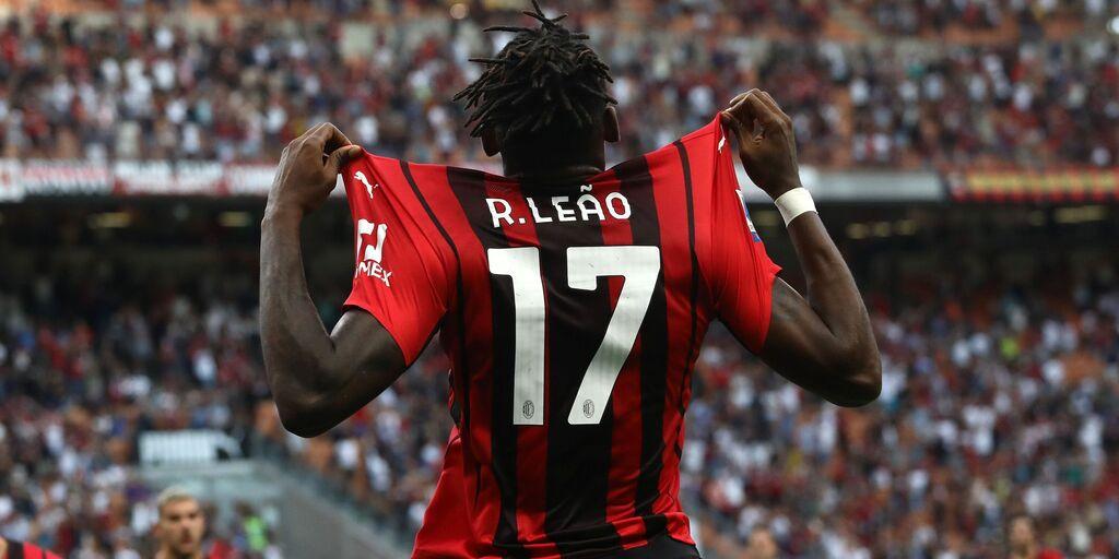 Rafael Leao, che avvio: mai due gol di fila in Serie A (Getty Images)