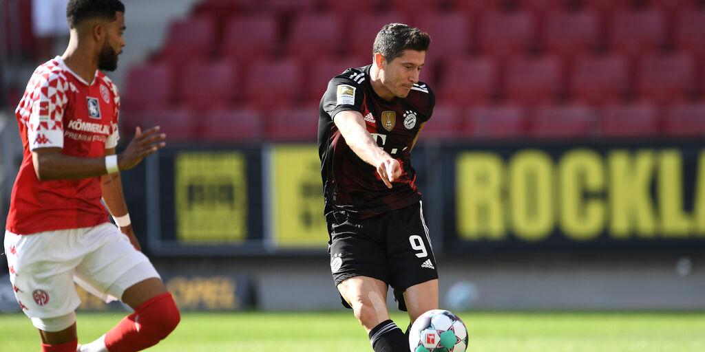 Bundesliga, Mainz-Bayern Monaco 2-1: festa rinviata per i bavaresi (Getty Images)