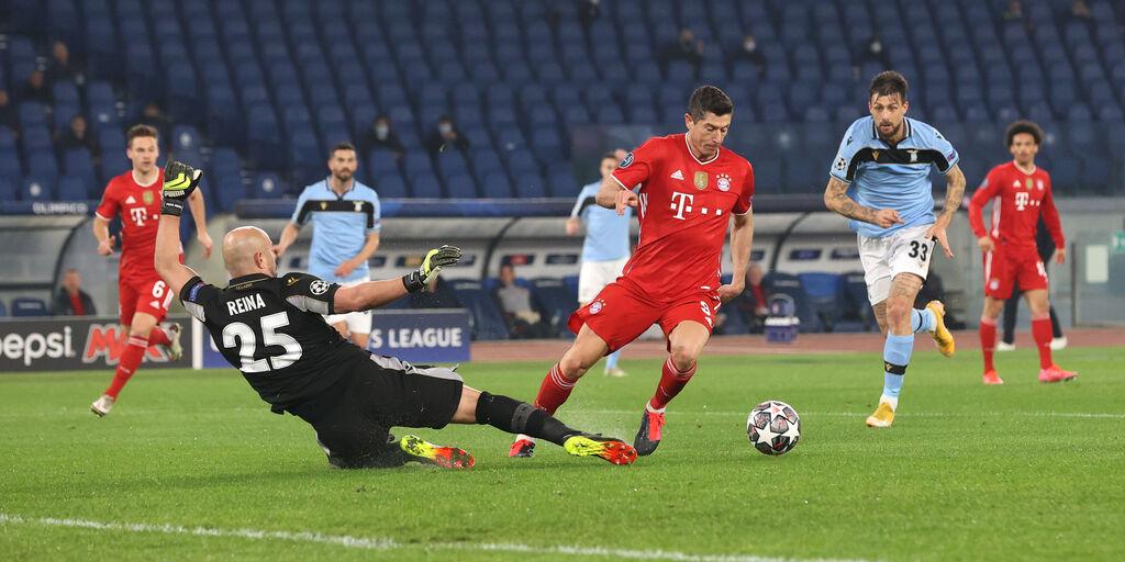 """Bayern Monaco, Lewandowski: """"Un onore vincere contro la Lazio"""" (Getty Images)"""