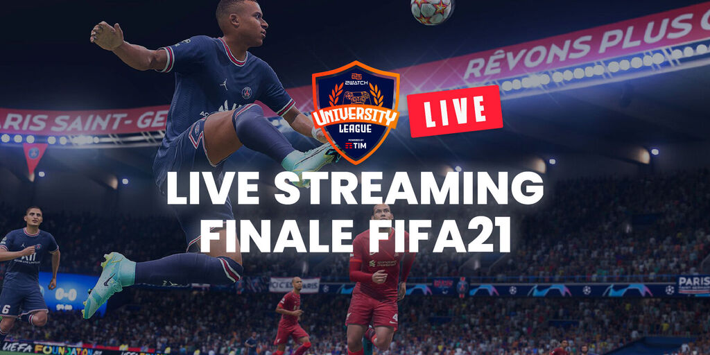 LIVE Streaming - FIFA 21, finale della 2Watch University League