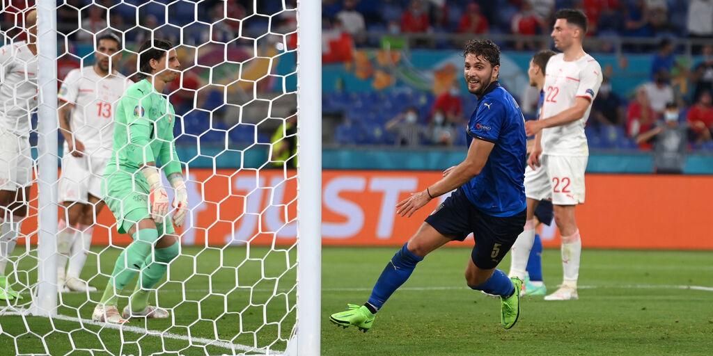 """Euro2020, Locatelli: """"Gol? Un pizzico di follia, Sul futuro..."""" (Getty Images)"""