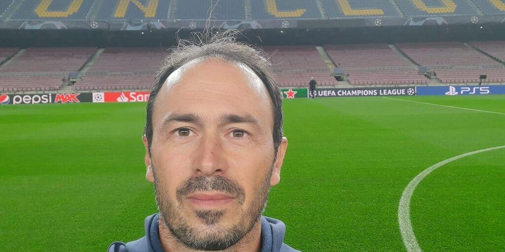 Diego Longo al Camp Nou