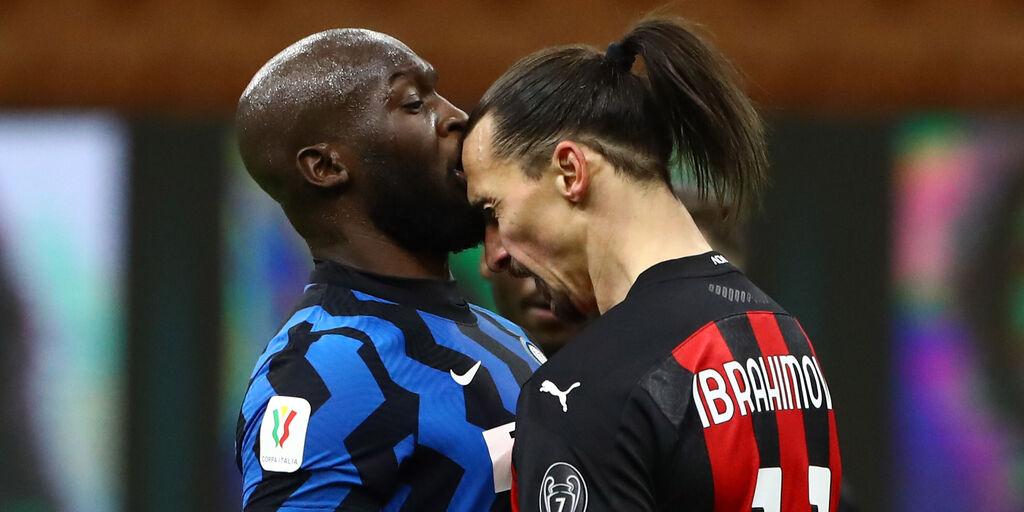 Scontro Ibrahimovic-Lukaku, multe devolute in beneficenza (Getty Images)