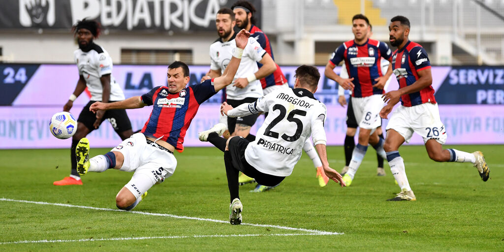 Spezia-Crotone 3-2: gol e highlights (Getty Images)