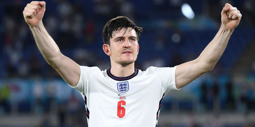 Inghilterra, Maguire (Getty Images)