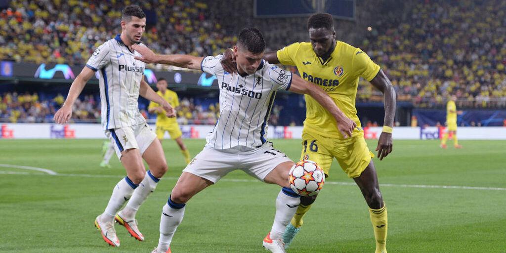 Villarreal-Atalanta 2-2, cronaca e tabellino (Getty Images)