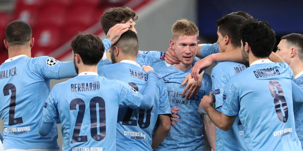 Manchester City-Borussia Monchengladbach, cronaca e tabellino (Getty Images)