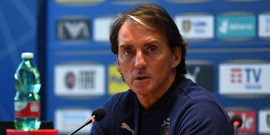 """Italia, Mancini: """"Fiducioso sulla presenza degli interisti. E su Toloi e Zaniolo..."""" (Getty Images)"""