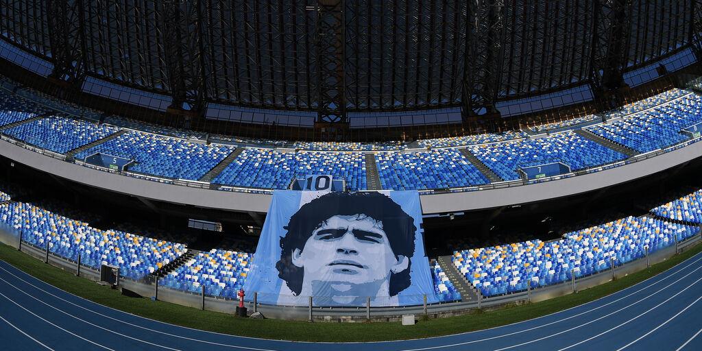 Stadio Diego Armando Maradona, il 29 luglio una statua per il Pibe (Getty Images)