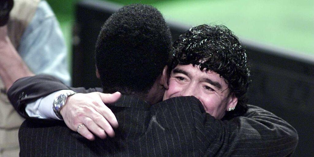 Addio Diego: il saluto di Pelé a Maradona (Getty Images)