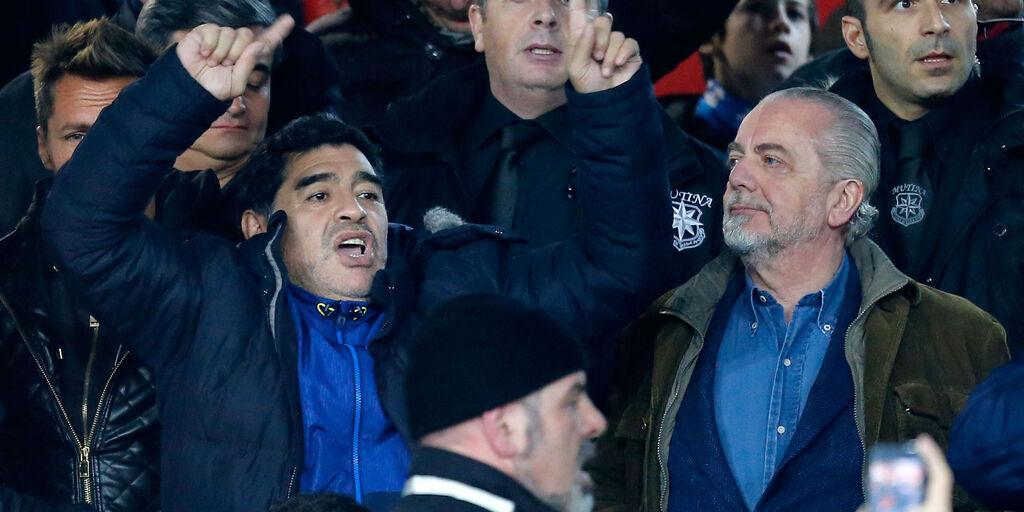 San Paolo intitolato a Maradona, il parere di De Laurentiis (Getty Images)
