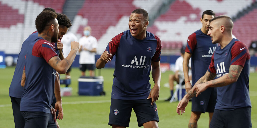 Mbappe, Neymar, Verratti (Getty Images)