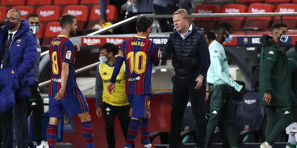"""Barcellona, sacrificio Griezmann per Messi? Koeman: """"C'è una priorità"""" (Getty Images)"""