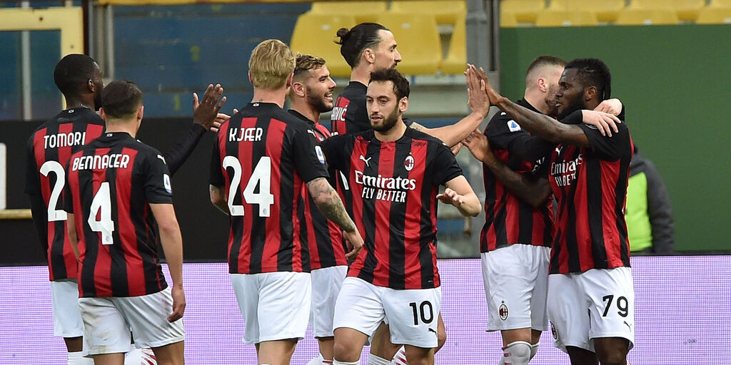 Parma-Milan 1-3, gol e highlights (Getty Images)